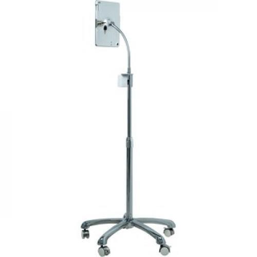 CTA Digital Heavy Duty Security Floor Stand For IPad (Gen. 5 6), IPad Pro 9.7, And IPad Air Rear/500