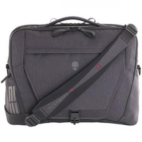 "Mobile Edge Elite Carrying Case (Backpack) For 17.3"" Dell Notebook   Black, Gray Rear/500"