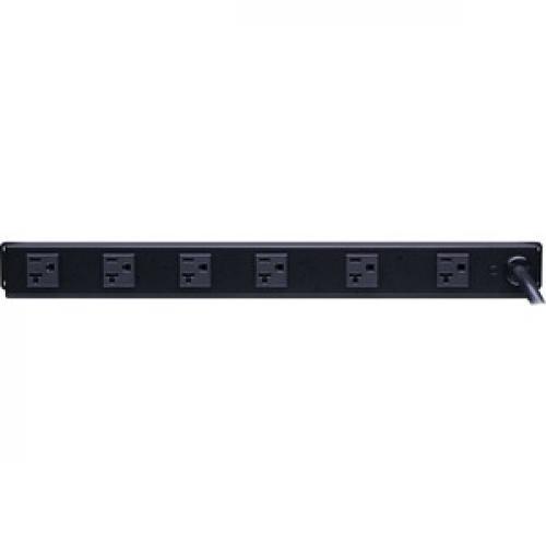 CyberPower Rackmount CPS 1220RM 20A PDU Rear/500