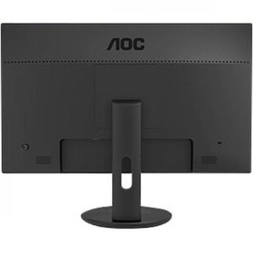 "AOC U2790VQ 27"" 4K UHD WLED LCD Monitor   16:9   Black Rear/500"