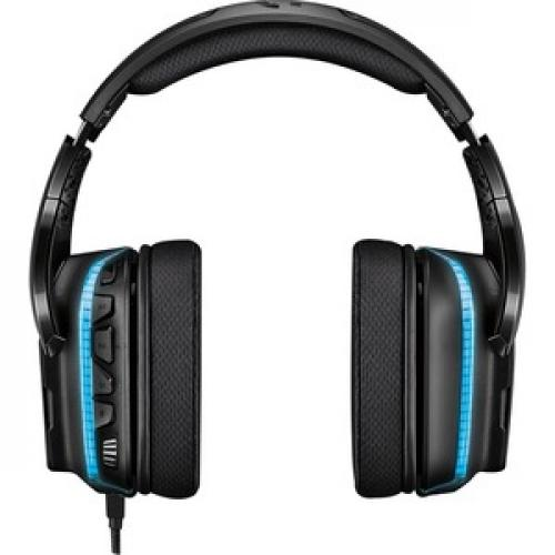 Logitech G635 7.1 Lightsync Gaming Headset Rear/500