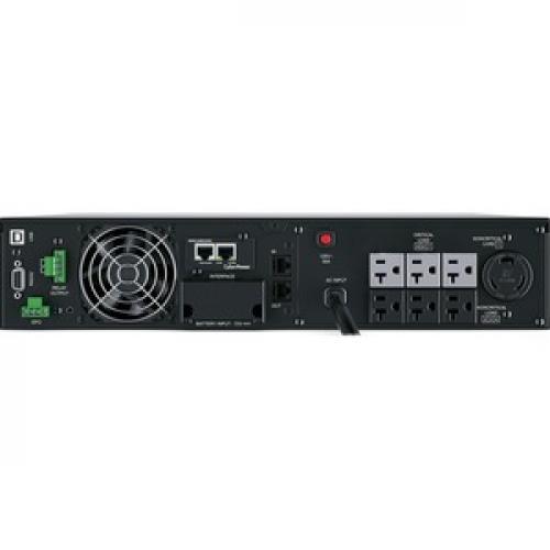 CyberPower UPS Systems OL2200RTXL2UN Smart App Online    Capacity: 2200 VA / 1800 W Rear/500