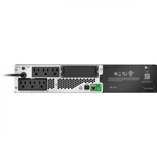 APC By Schneider Electric Smart UPS SMTL750RM2UC Rack Mountable 750VA UPS (Not For Sale In Vermont) Rear/500