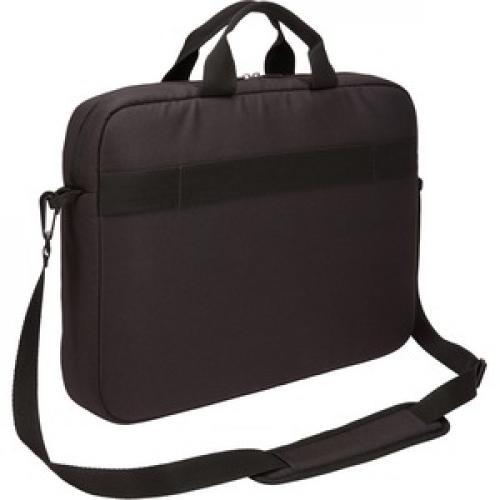 "Case Logic Advantage ADVA 116 BLACK Carrying Case (Attaché) For 10"" To 16"" Notebook   Black Rear/500"
