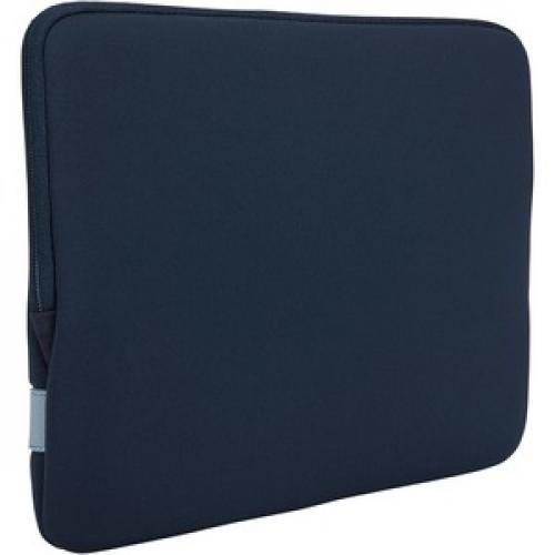 "Case Logic Reflect REFMB 113 DARK BLUE Carrying Case (Sleeve) For 13"" Apple MacBook Pro   Dark Blue Rear/500"