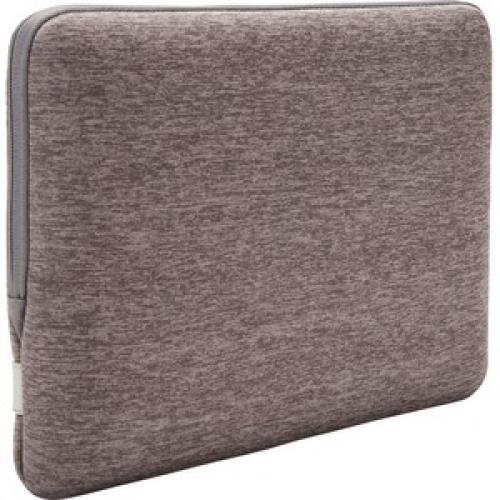 """Case Logic Reflect REFPC 113 GRAPHITE Carrying Case (Sleeve) For 13.3"""" Notebook   Gray Rear/500"""