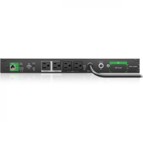APC By Schneider Electric Smart UPS 500VA Rack/Floor Mountable UPS Rear/500