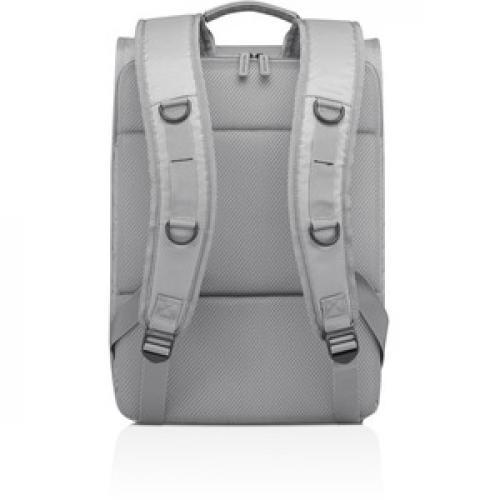 "Lenovo Carrying Case (Backpack) For 15.6"" Lenovo Notebook   Gray Rear/500"
