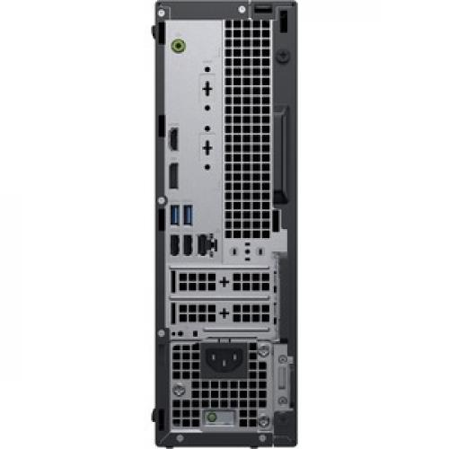 Dell OptiPlex 3000 3070 Desktop Computer   Intel Core I3 9th Gen I3 9100 3.60 GHz   8 GB RAM DDR4 SDRAM   128 GB SSD   Small Form Factor Rear/500