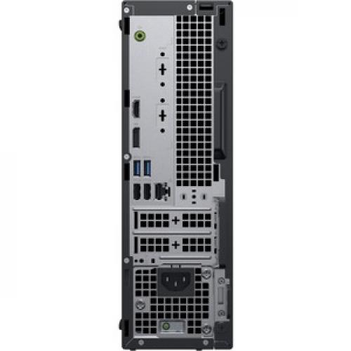Dell OptiPlex 3000 3070 Desktop Computer   Intel Core I5 9th Gen I5 9500 3 GHz   8 GB RAM DDR4 SDRAM   500 GB HDD   Small Form Factor Rear/500