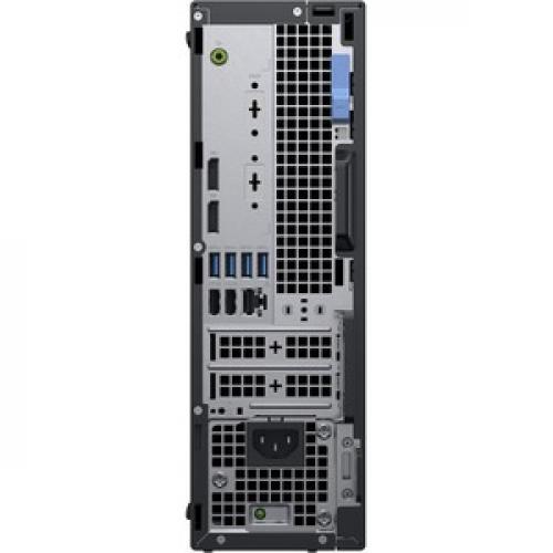 Dell OptiPlex 5000 5070 Desktop Computer   Core I7 I7 9700   8 GB RAM   256 GB SSD   Small Form Factor Rear/500