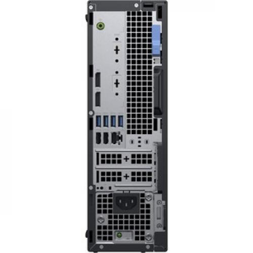 Dell OptiPlex 5000 5070 Desktop Computer   Intel Core I7 9th Gen I7 9700 3 GHz   8 GB RAM DDR4 SDRAM   500 GB HDD   Small Form Factor Rear/500