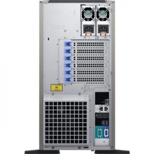 Dell EMC PowerEdge T440 5U Tower Server   2 X Intel Xeon Silver 4208 2.10 GHz   32 GB RAM   1 TB (1 X 1 TB) HDD   12Gb/s SAS, Serial ATA/600 Controller Rear/500