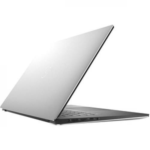 "Dell XPS 15 7590 15.6"" Touchscreen Notebook   3840 X 2160   Intel Core I7 (9th Gen) I7 9750H Hexa Core (6 Core)   32 GB RAM   1 TB SSD   Silver Rear/500"