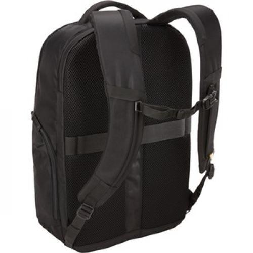 """Case Logic Notion Carrying Case (Backpack) For 17"""" To 17.3"""" Notebook   Black Rear/500"""