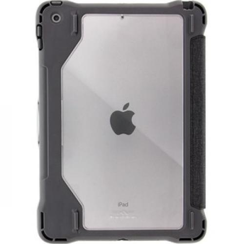 """Brenthaven Edge Folio III Carrying Case (Folio) For 10.2"""" Apple IPad (7th Generation) Tablet   Gray, Translucent Rear/500"""