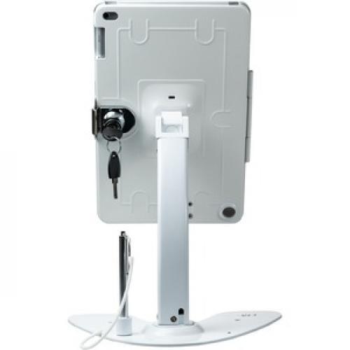 CTA Digital Desk Mount For IPad, IPad Air, IPad Pro, Card Reader   White Rear/500