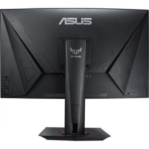 "TUF VG27VQ 27"" Full HD Curved Screen LED Gaming LCD Monitor   16:9   Black Rear/500"
