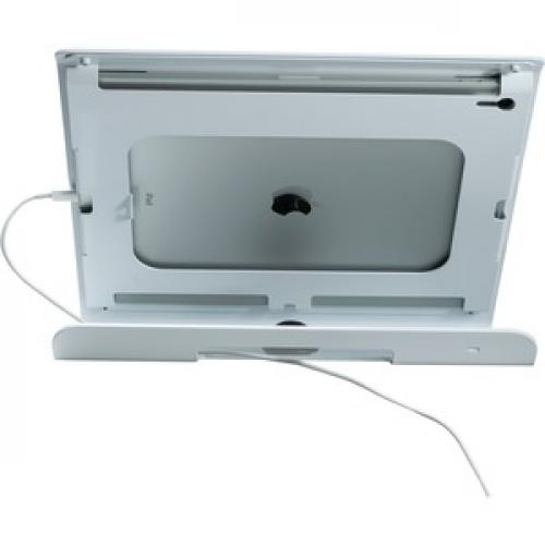 CTA Digital Rotating Theft Deterrent Kiosk Stand For IPad Pro 12.9 Gen. 3 Rear/500