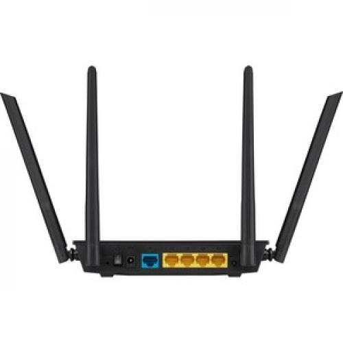 Asus RT AC1200 V2 IEEE 802.11ac Ethernet Wireless Router Rear/500