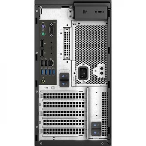 Dell Precision 3000 3630 Workstation   Core I7 I7 9700K   16 GB RAM   256 GB SSD   Mini Tower Rear/500