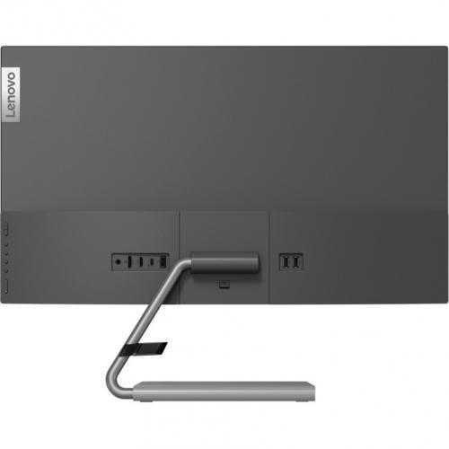 "Lenovo Q27h 10 27"" WQHD WLED LCD Monitor   16:9   Gray Rear/500"