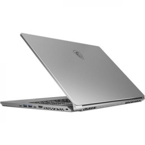 "MSI Creator 17 A10SFS 254 17.3"" Gaming Notebook   3840 X 2160   Core I7 I7 10875H   32 GB RAM   1 TB SSD   Space Gray With Silver Diamond Cut Rear/500"