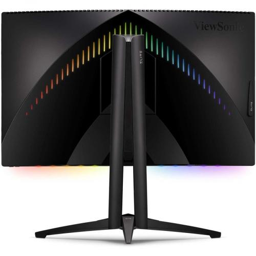 "Viewsonic Elite XG270QC 27"" WQHD Curved Screen LED Gaming LCD Monitor   16:9 Rear/500"