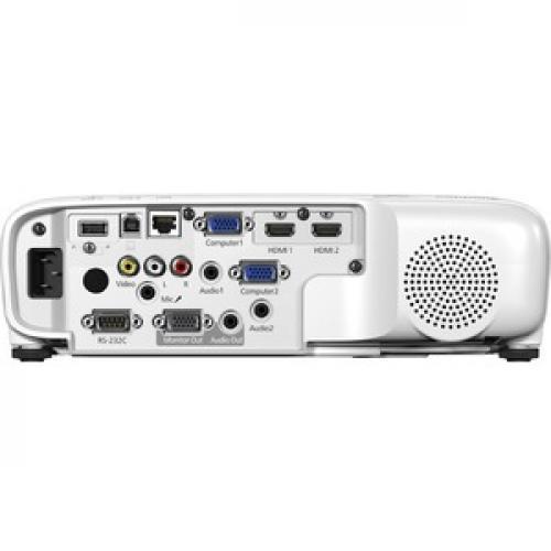 Epson PowerLite 118 LCD Projector   4:3 Rear/500