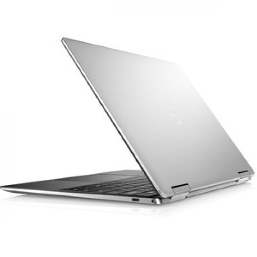 "Dell XPS 13 7390 13.3"" Touchscreen Notebook   4K UHD   3840 X 2160   Intel Core I7 (10th Gen) I7 10510U Quad Core (4 Core)   8 GB RAM   256 GB SSD   Platinum Silver, Carbon Fiber Black Rear/500"