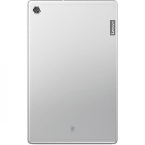 "Lenovo Smart Tab M10 TB X606FA ZA6M0007US Tablet   10.3"" WUXGA   4 GB RAM   128 GB Storage   Android 9.0 Pie   Platinum Gray Rear/500"