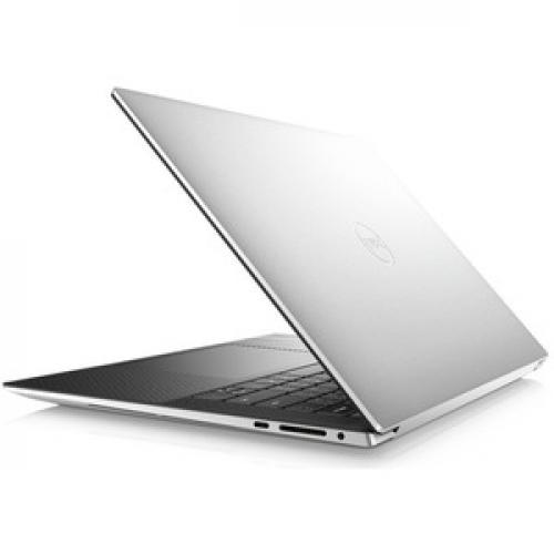 "Dell XPS 15 9500 15.6"" Touchscreen Notebook   3840 X 2400   Intel Core I7 (10th Gen) I7 10750H Hexa Core (6 Core)   32 GB RAM   1 TB SSD   Platinum Silver, Carbon Fiber Black Rear/500"