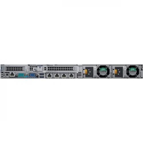 Dell EMC PowerEdge R640 1U Rack Server   2 X Intel Xeon Gold 5218 2.30 GHz   64 GB RAM HDD   480 GB SSD   12Gb/s SAS, Serial ATA/600 Controller Rear/500