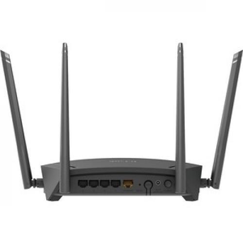 D Link DIR 1750 IEEE 802.11ac Ethernet Wireless Router Rear/500