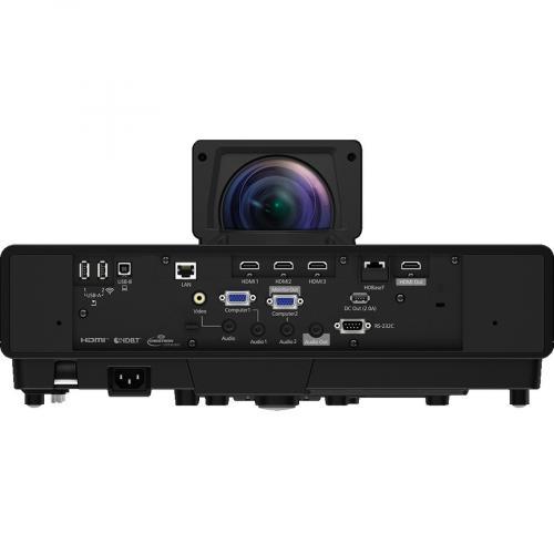 Epson PowerLite 805F Ultra Short Throw 3LCD Projector   Black Rear/500
