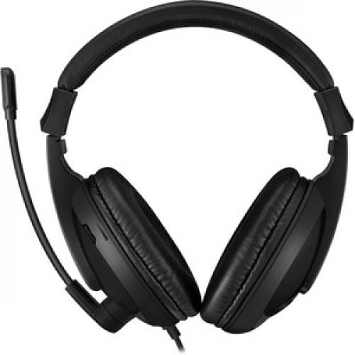 Adesso Xtream H5U   USB Stereo Headset With Microphone   Noise Cancelling   Wired  Lightweight Rear/500