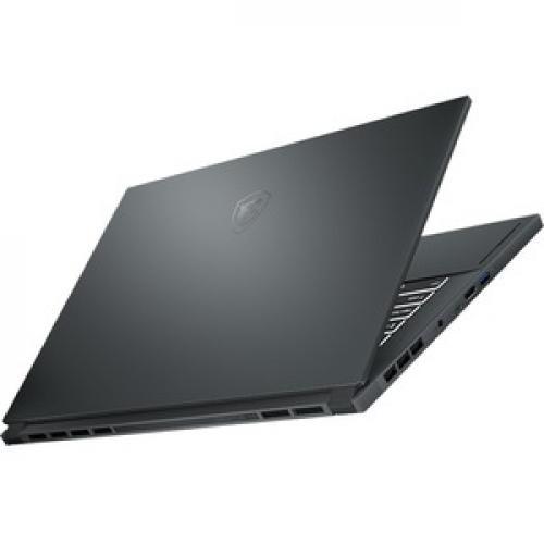 "MSI Creator 15 Creator 15 A10SD 015 15.6"" Gaming Notebook   Full HD   1920 X 1080   Intel Core I7 (10th Gen) I7 10750H 2.60 GHz   16 GB RAM   512 GB SSD   Space Gray With Silver Diamond Cut Rear/500"