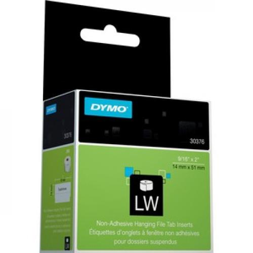 Dymo Hanging File Tab Inserts Right/500