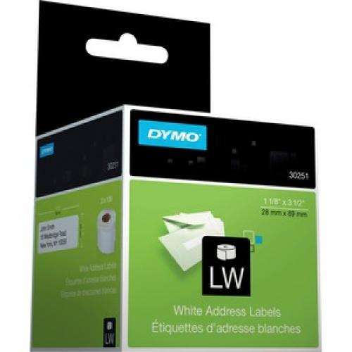 Dymo White Address Labels Right/500