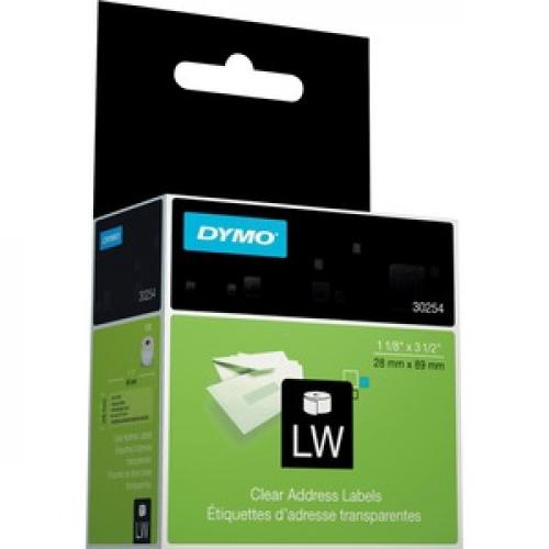 Dymo Clear Address Labels Right/500