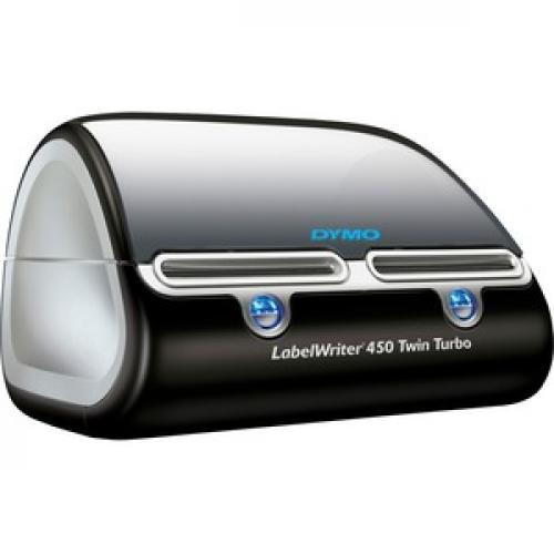 Dymo LabelWriter Direct Thermal Printer   Monochrome   Platinum   Label Print   USB Right/500