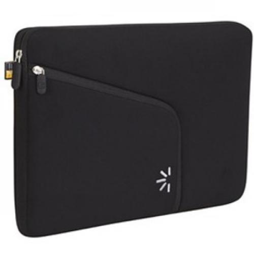"""Case Logic PAS 213 Carrying Case (Sleeve) For 13"""" MacBook Pro   Black Right/500"""