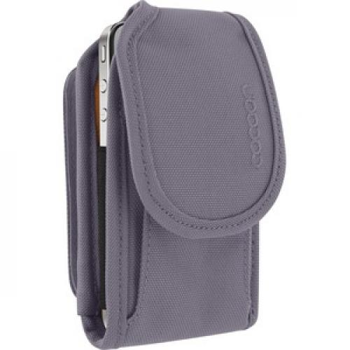 Cocoon CCPC40GY Carrying Case (Pouch) Apple IPhone Smartphone   Gunmetal Gray Right/500
