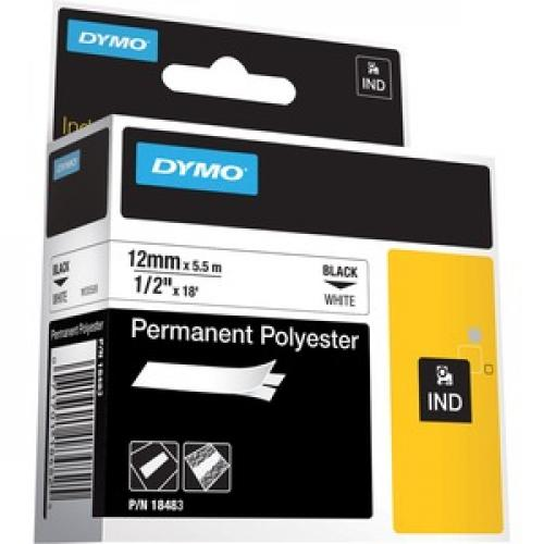 Dymo Rhino Permanent Poly Labels Right/500
