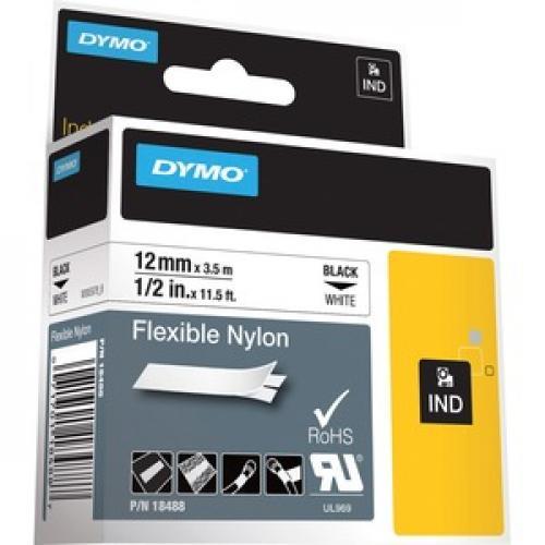 Dymo Rhino Flexible Nylon Labels Right/500