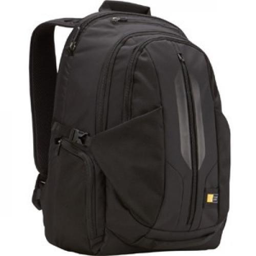 "Case Logic RBP 117 Carrying Case (Backpack) For 17.3"" Notebook   Black Right/500"