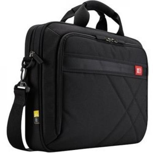 """Case Logic DLC 117BLACK Carrying Case (Messenger) For 10.1"""" To 17.3"""" Notebook   Black Right/500"""