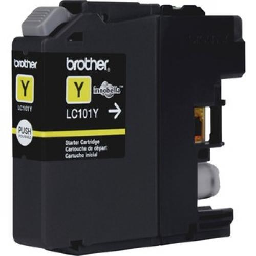 Brother Genuine Innobella LC101Y Yellow Ink Cartridge Right/500