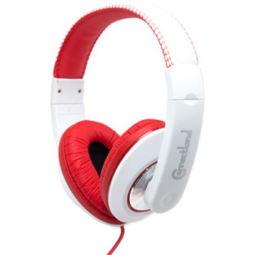 SYBA Multimedia Binaural Design Red / White Headset Right/500