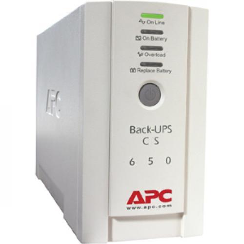 APC Back UPS CS 650VA 230V For International Use Right/500